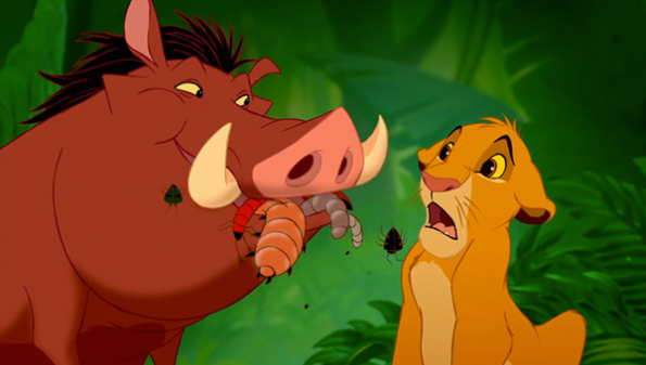 pumbaa and simba
