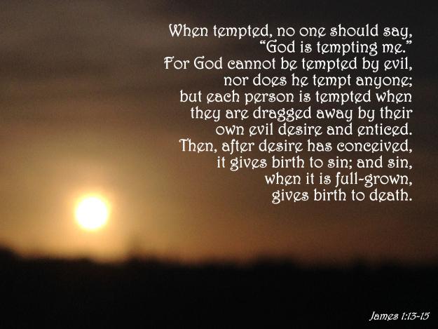 James 1:13-15